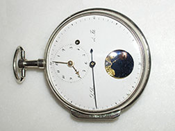 Silver case for an early 19th cent. Dubois & Fils movement