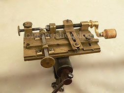 19th cent. fusée engine of a simple form