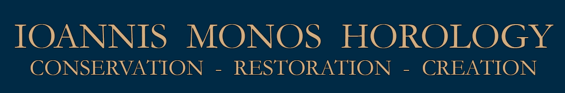 IOANNIS MONOS HOROLOGY-antiquarian horologist in Greece